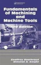 Fundamentals of Metal Machining and Machine Tools [Mechanical Engineering]