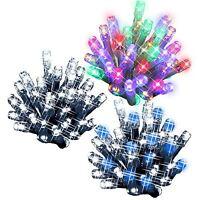 100 LED String Christmas Chaser Lights Flash Festive Xmas Tree Window Decoration