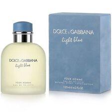 LIGHT BLUE by Dolce & Gabbana 4.2 oz /125 ml.EDT Spray for Men - SEALED IN BOX-