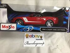 NEW Maisto 2010 ROUSH 427R Ford Mustang 1:18 Diecast Car 2 DAY GET