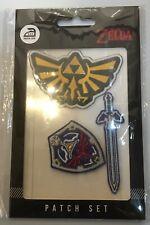 Bioworld Legend of Zelda Nintendo Video Game Iron-on Patch 3 Set Lot New