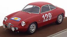 Tecnomodel Alfa Romeo Giulietta SZ Tour de France 1960 Lagenneste/Gredes 1/18