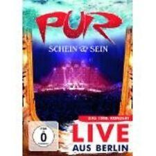 """PUR """"SCHEIN & SEIN LIVE AUS BERLIN"""" 2 DVD NEUWARE"""