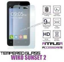 PELLICOLA IN VETRO TEMPERATO PER WIKO SUNSET 2 TEMPERED GLASS SCREEN PROTECTOR