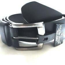 """Nuevo cinturón 35mm de cuero negro con cintura 46"""""""