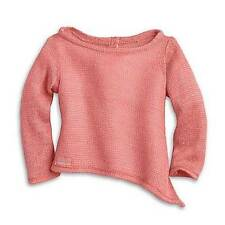 American Girl Isabelle Coral Sweater 2014 Dance Top Tunic Box Fits 18in Doll NEW