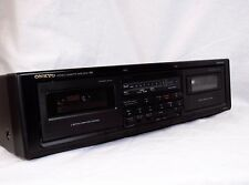 Vintage / Retro Onkyo Stereo Cassette Dual Tape Deck Recorder