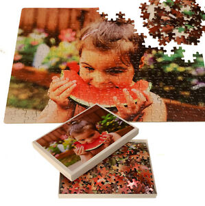 Personalised Photo on A3 Puzzle Print in Box - Custom Own Image on 300pcs Jigsaw