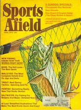 1974 Sports Afield Magazine: Bass/Walleyes/Trout/Panfish/Saltwater Fly Fishing
