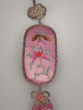 Chinese Embroidered Silk Tassel      47986
