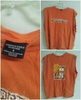 001B Vintage American Eagle Beach Break 2002 Mexico Medium Shirt Tee