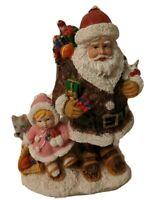 SC59 Eskimo Santa & Snow Baby Eskimo 2002 International Resources LLC Christmas
