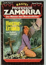 PROFESSOR ZAMORRA Band 121 / HORROR-URLAUB