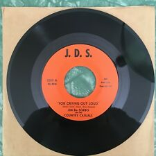JIM De SORBO ~ I've Had All I Can Take From You obscure rockabilly (NM) ~ J.D.S.
