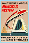 The Walt Disney World Monorail System - Vintage Poster