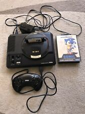 Sega Megadrive Mega Drive 16 bit MK1 PAL Console With Original Box & Sonic Game