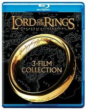 The Lord of the Rings: 3-Film Collection Blu-ray Disc, 2014, Theatrical Versions
