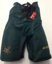 CCM HP32 Custom Pro Hockey Pants XL UVM Catamounts New