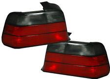 Indietro Posteriore Coda Luci Lampada Indicatore Cabrio in RED-BLACK COPPIA PER BMW E36 COUPE