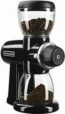 New KitchenAid KCG0702OB Burr Coffee Grinder stainless steel burr Onyx Black