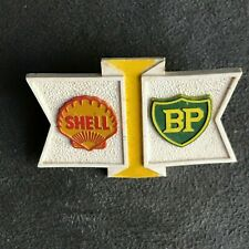 SHELL BP PETROL OIL CAP BADGE