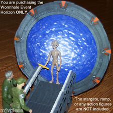 6.75 inch WORMHOLE Event Horizon Photo Backdrop for a Stargate SG-1 Model Gate