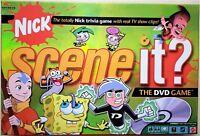 Nick Scene It DVD Trivia Board Game 2006 EUC Complete Mattel Family Kids
