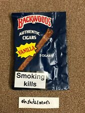 Backwoods Cigars Vanilla Pack of 5 AUTHENTIC discontinued grape banana rum
