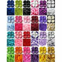 500 pcs Silk Rose Flower Petals Leaves Bridal Wedding Party Table Decorations