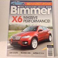 Bimmers BMW Magazine X6 & 328i Coupe August 2008 052617nonrh2
