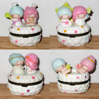 Japan Sanrio Little Twin Stars Limoges Pottery Decoration Mini Case