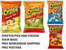 Cheetos Flamin Hot Crunchy Chips Puffs Cheese Many More 2 PER ORDER PACK 2