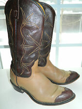 "1980's ""acme"" Brand Western Boots / Us Woman's Size: 6 1/2 C / Usa Made / Used"