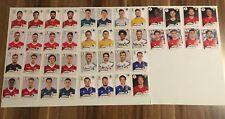 Panini WM 2018 Komplettset 40 Bilder ohne Nummer aus Mc Donalds Tüten