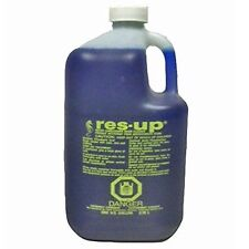 RES-UP WATER SOFTENER RESIN CLEANING SOLUTION RESIN CLEANER (CASE OF 4 GALLONS)