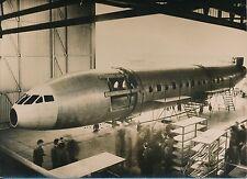 """Toulouse 1954 - Fuselage Avion """"La Caravelle"""" Atelier S.N.C.A.S.E - PR 779"""
