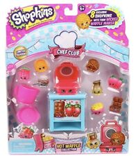 Shopkins Chef Club Hot Waffle Collection 8 Exclusive Shopkins