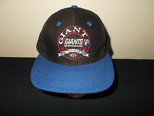 VTG-1990s New York Giants NFL Football retro wool snapback hat sku21