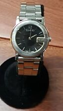 Gucci Stainless steel Women's watch - 101L Pre Owned