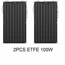 Semi Flexible Solar Panels 100w High Efficiency Light Weight Photo Voltaic Cells