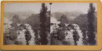 Rigida di ponte Francia Fotografia Stereo Amatore Vintage