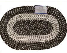 Nantucket Home Brown Braided Area Rug 20 Inch x 30 Inch