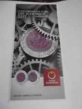 Niob österreichische Münzen nach Euro-Einführung