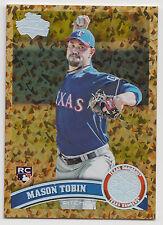MASON TOBIN 2011 Topps Baseball Cognac Diamond Anniversary Card #343 Rangers