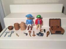 Playmobil #3053 Pirate Ship Figures Pirates Accessories lot