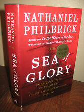 SIGNED 1st Edition SEA OF GLORY Nathaniel Philbrick HISTORY Exploration FIRST PT