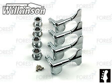 Wilkinson ® wjb650 Bass Guitar Machine Heads Ibanez ® Style, Chrome Finish