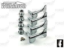 Wilkinson ® WJB650 Bass guitar machine heads Ibanez ® style, Chrome finish