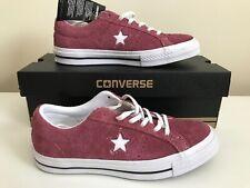 Converse ONE STAR SUEDE GRADE SCHOOL LIFESTYLE BURGUNDY RED WHITE 261790c SZ 4