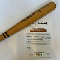 1983 Cal Ripken Jr. Early Career Signed Game Issued Worth Bat With PSA DNA COA